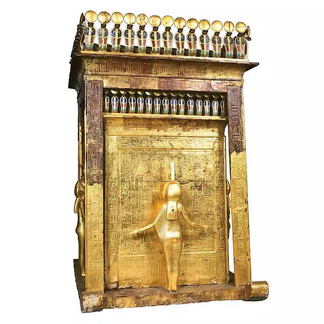 The Canopic Shrine of Tutankhamun