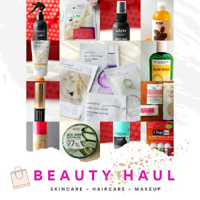 August 2019 Beauty Haul || Skincare, Haircare & Makeup on Natural Beauty And Makeup Blog