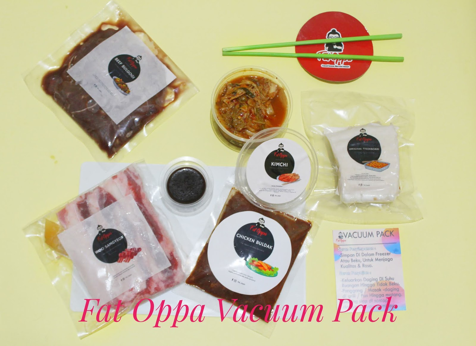 Fat Oppa Vacuum Pack