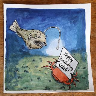 AliceDrawsTheLine :: AnglerFish card