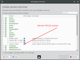 Atualizando o Kernel do Mx 16 para Liquorix
