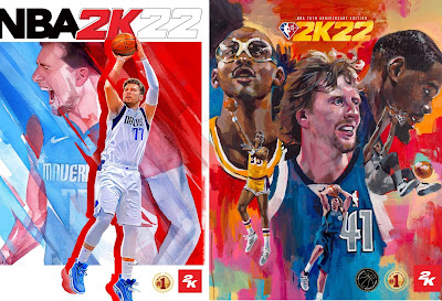 Anyone, Anywhere: NBA® 2K22 Features Luka Dončić and NBA Scoring Legends – Kareem Abdul-Jabbar, Dirk Nowitzki, and Kevin Durant – as Cover Athletes