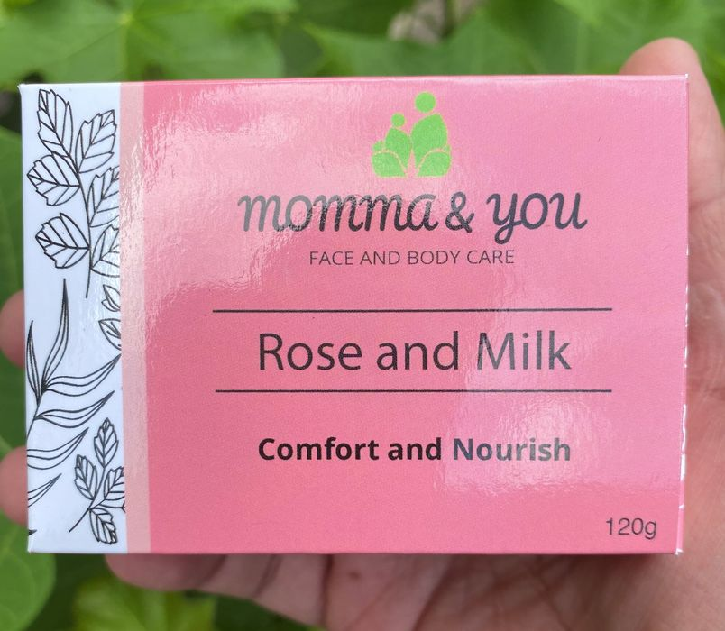 Momma and You Rose and Milk Bar Soap by Ed & Kes