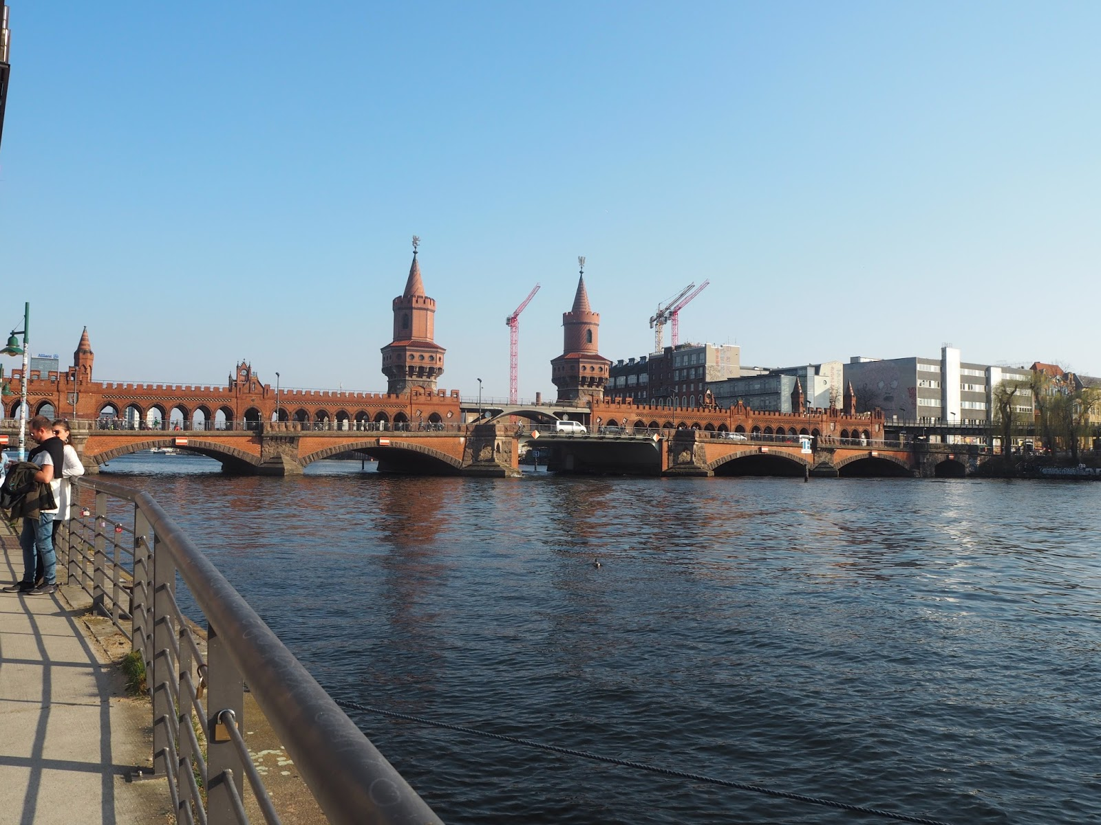 River and bridge in Berlin