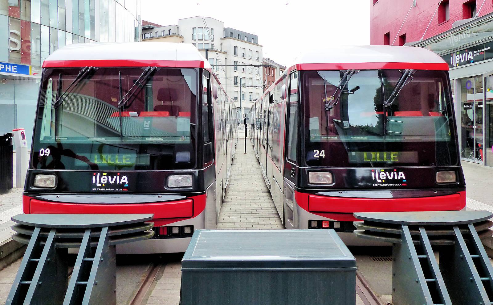 Tourcoing Centre Tram