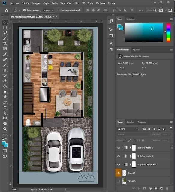 PSD File For Post Production , post production , 3d free , sketchup models , free 3d models , 3d model free download