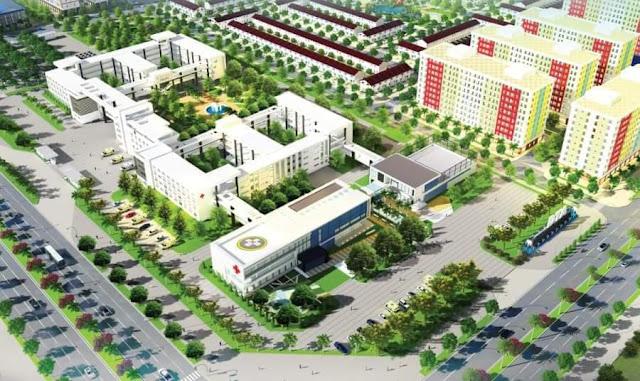 Phối cảnh khu đô thị DTA Nhơn Trạch Đồng Nai
