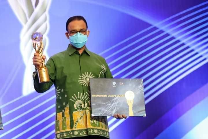 Raih 6 Penghargaan Penting, Bukti Perubahan Besar Jakarta Dipimipin Anies