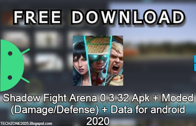 Shadow Fight Arena 0.3.32 Apk + Moded (Damage/Defense) + Data for android 2020