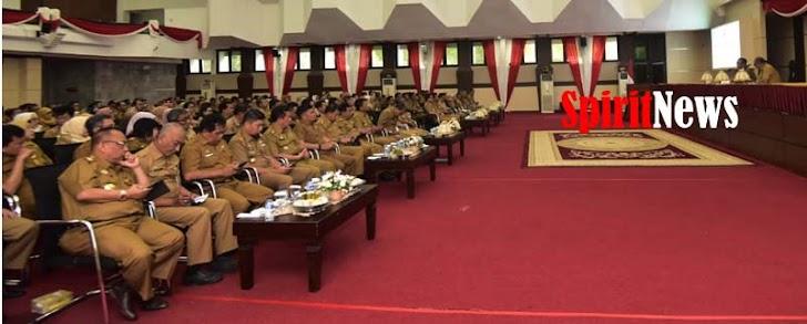 Gubernur Sulsel, Gelar Coffee Morning Bersama Seluruh Kepala OPD