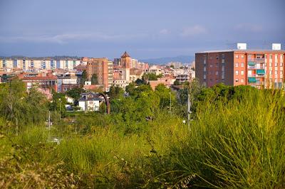 Parque de Cordellas y parque del Turonet.. Cerdanyola del Valles, Catalunya, España...