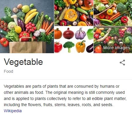 Unwashed Vegetables