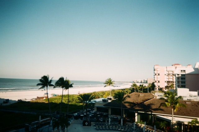 A view of the beach in Florida