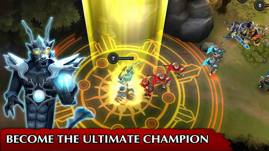 Legendary Heroes MOBA Mod Apk Android