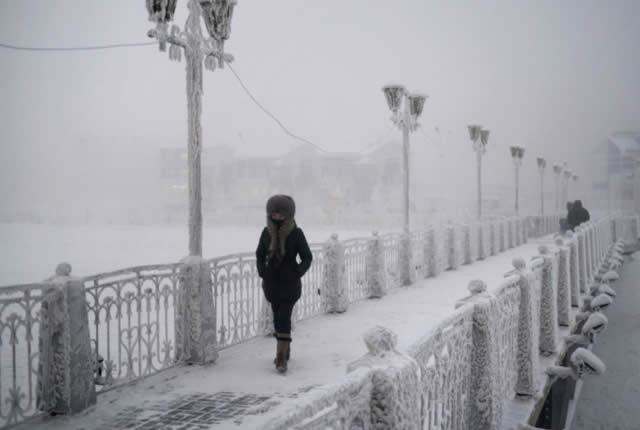 Oymyakon - northeastern of Siberia, Russia