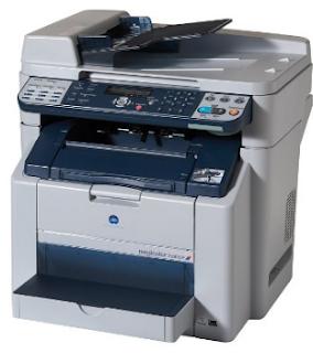 Der Konica Minolta magicolor 2590MF bietet Kopier-, Druck-, Scan- und Faxfunktionen in einem tragbaren Gerät