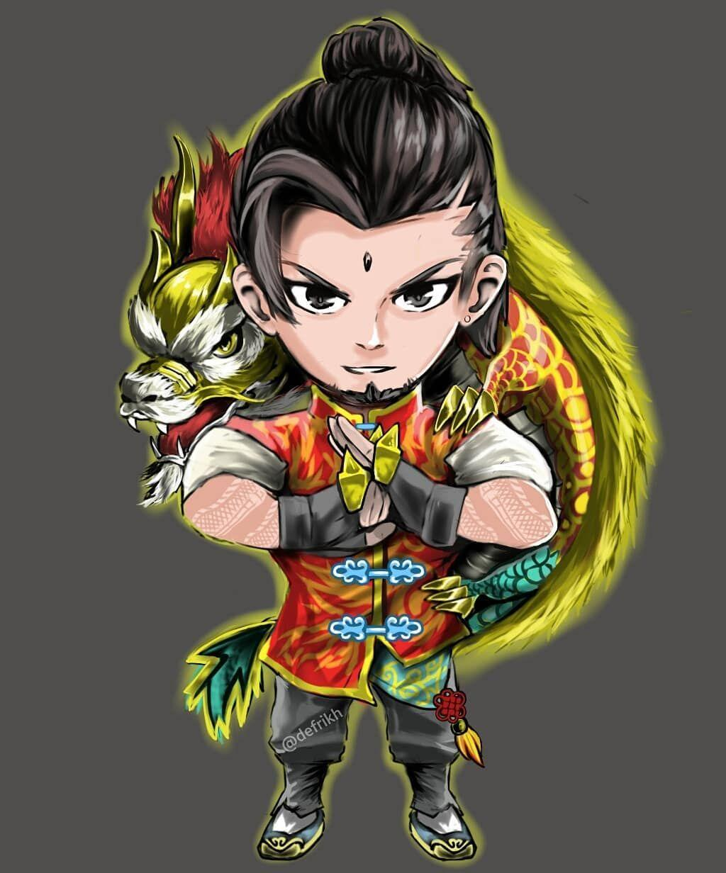 Wallpaper Chou Dragon Boy Fans Arts Full HD for Android and iOS