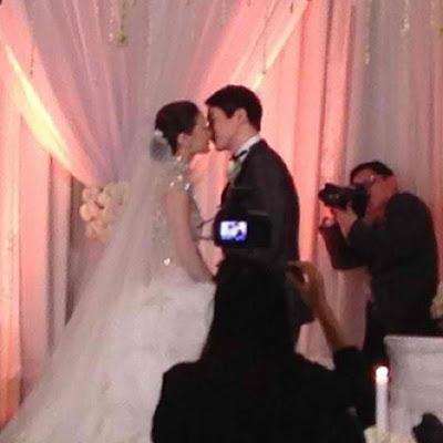 Richard Poon and Maricar Reyes Wedding | Female Network