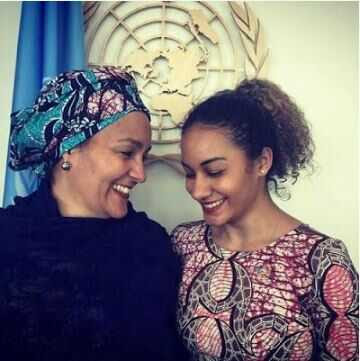 See Pre-Wedding Photos of Amina Mohammed's Stunning Daughter, Nadine