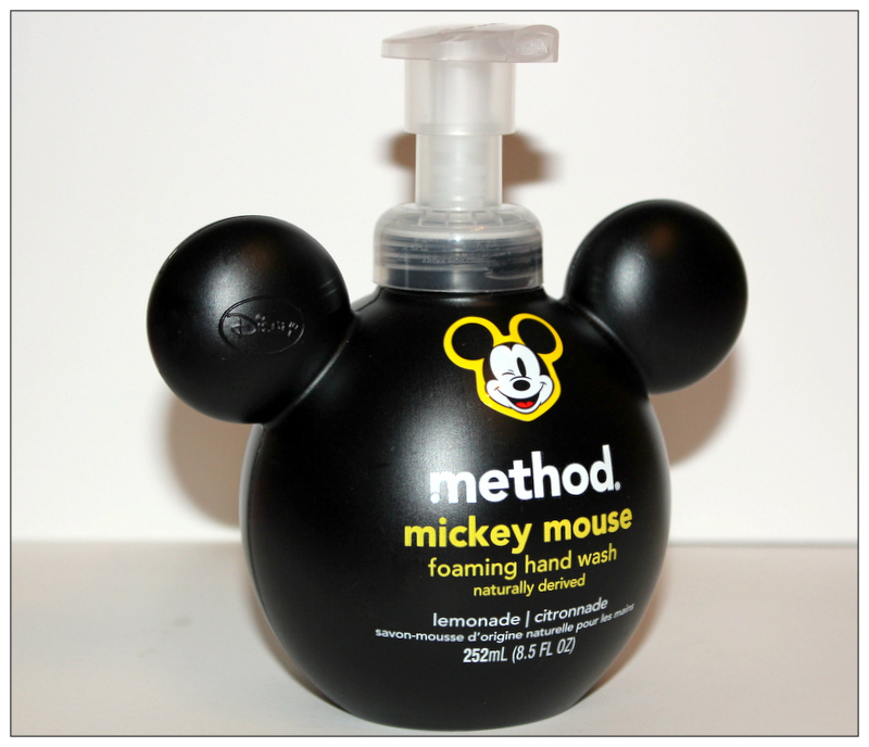 Method, Mickey Mouse Foaming Hand Wash, Lemonade
