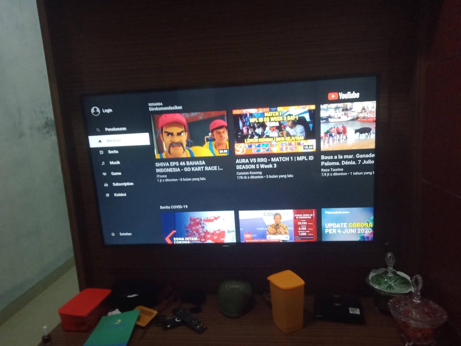 Cara Mudah Sambungkan TV Samsung ke WIFI Internet
