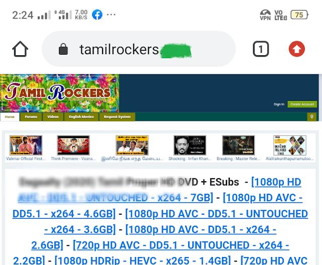 tamilrockers com