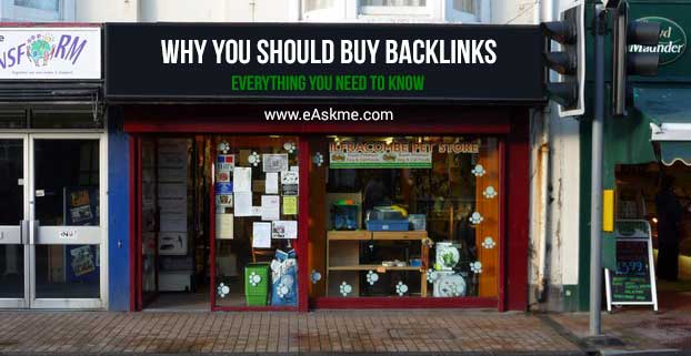 Reasons Why You Should Buy Backlinks: Everything You Need to Know: eAskme
