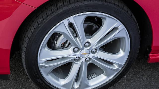 New Chevrolet Cruze LT-chevy Plain 2016 wheel view