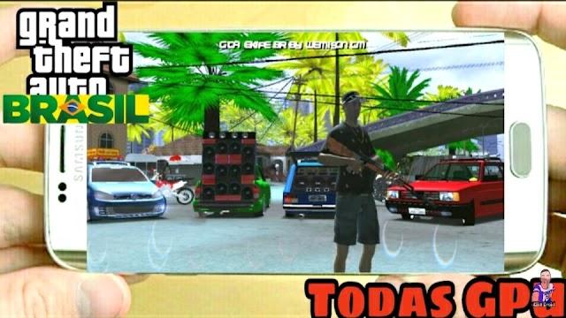 GTA BRASIL VERSÃO 1.2 GTA SAN MODIFICADO PARA QUALQUER GPU ANDROID!!