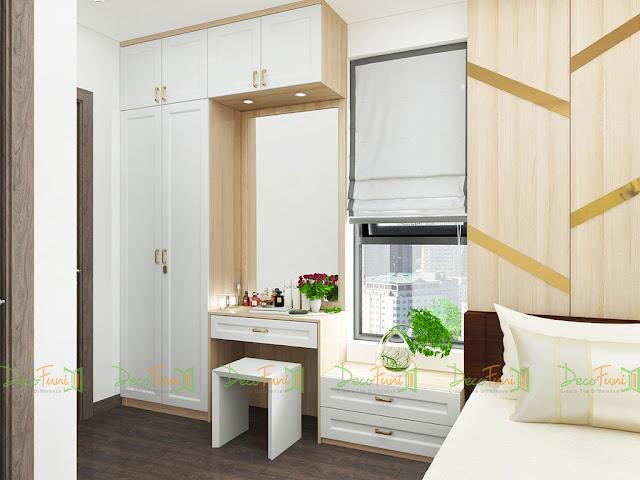 Nội thất chung cư 70m2, 2 phòng ngủ