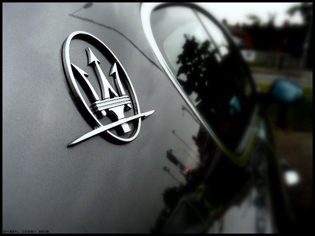 SPORTS CARS: Maserati logo wallpaper HD