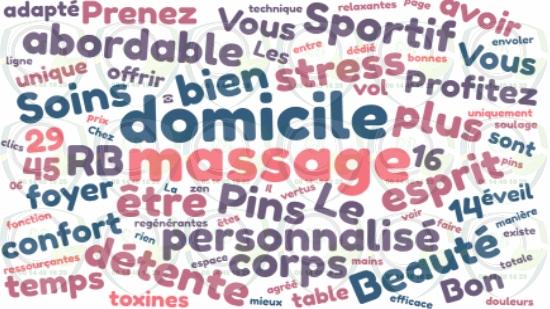 Le bon massage a domicile Sausset-les-Pins;