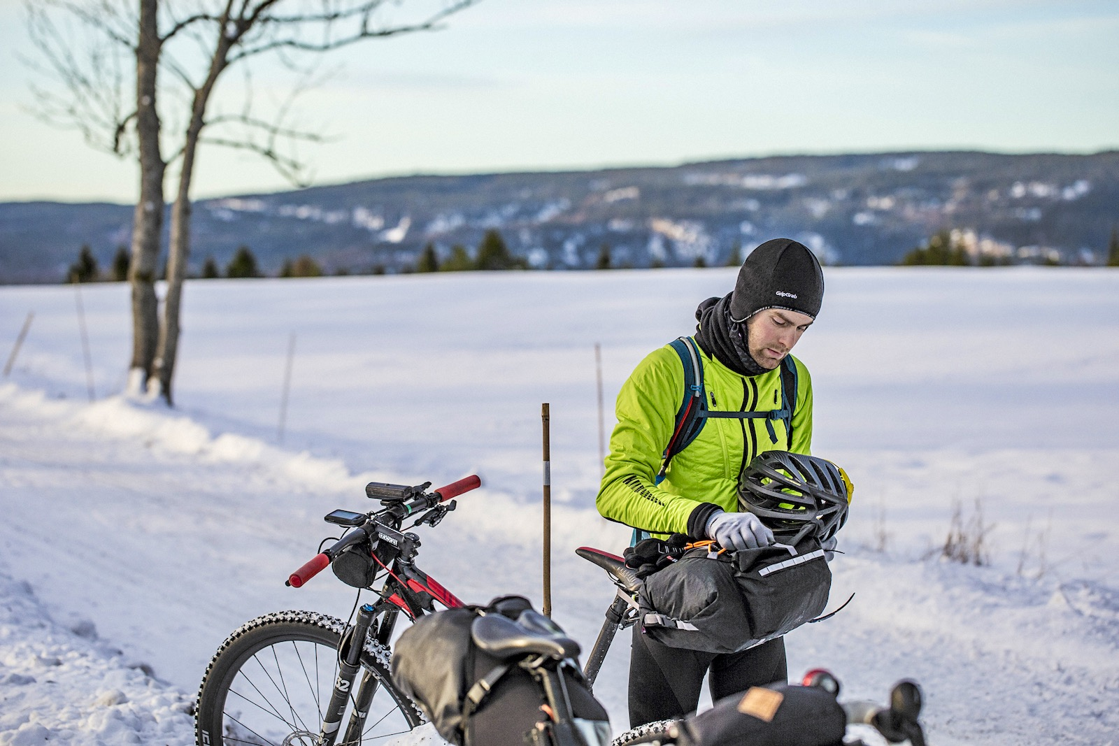 Winter Cycling Headwear Balaclava Cap