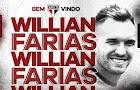 São Paulo contrata Willian Farias, ex-Vitória