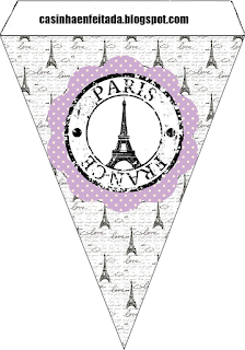 Paris in Lilac: Free Printable Weeding Kit.
