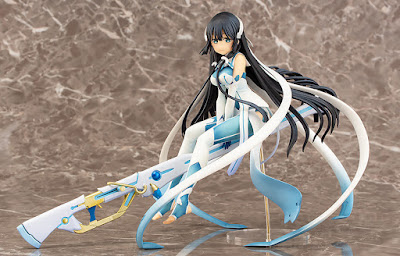 """La magical girl Mimori Togo de """"Yuki Yuna Yuusha wa Aru"""" en esta figura de Chara-ani."""