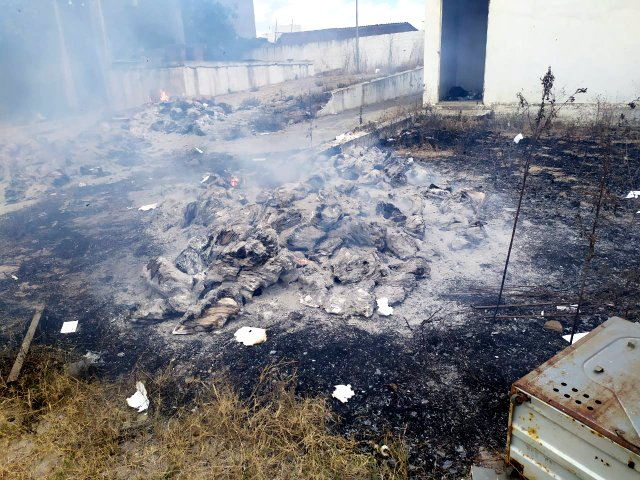 Documentos são queimados em hospital que era alugado à prefeitura de Santa Cruz do Capibaribe