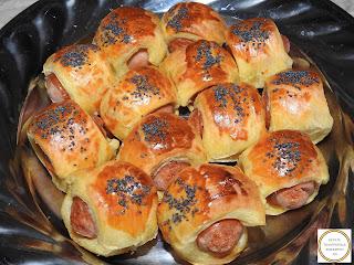 Carnaciori in foietaj aperitiv reteta,