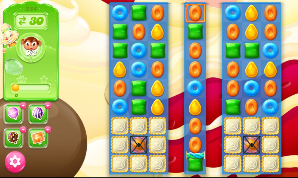 Candy Crush Jelly Saga 334