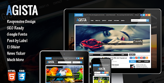 Agista Blogger Template Free Download