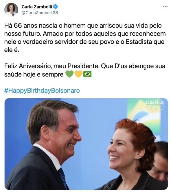 Screenshot 2021 03 21T092316.535 - Bolsonaro completa 66 anos e é homenageado por multidão de patriotas que canta parabéns em frente ao planalto; VEJA VÍDEO