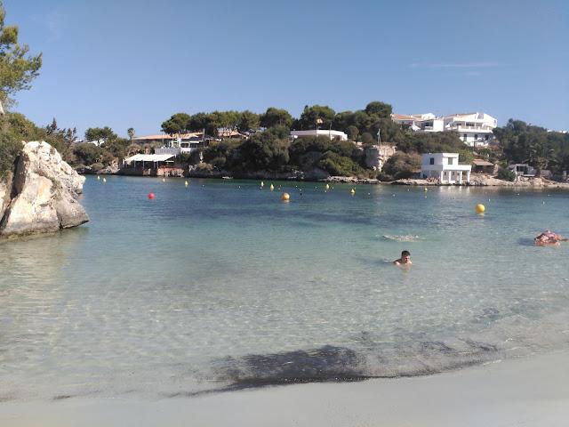 Cala de Santandría en Menorca