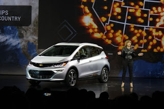 Chevy Bolt (Credit: GM) Click to Enlarge.