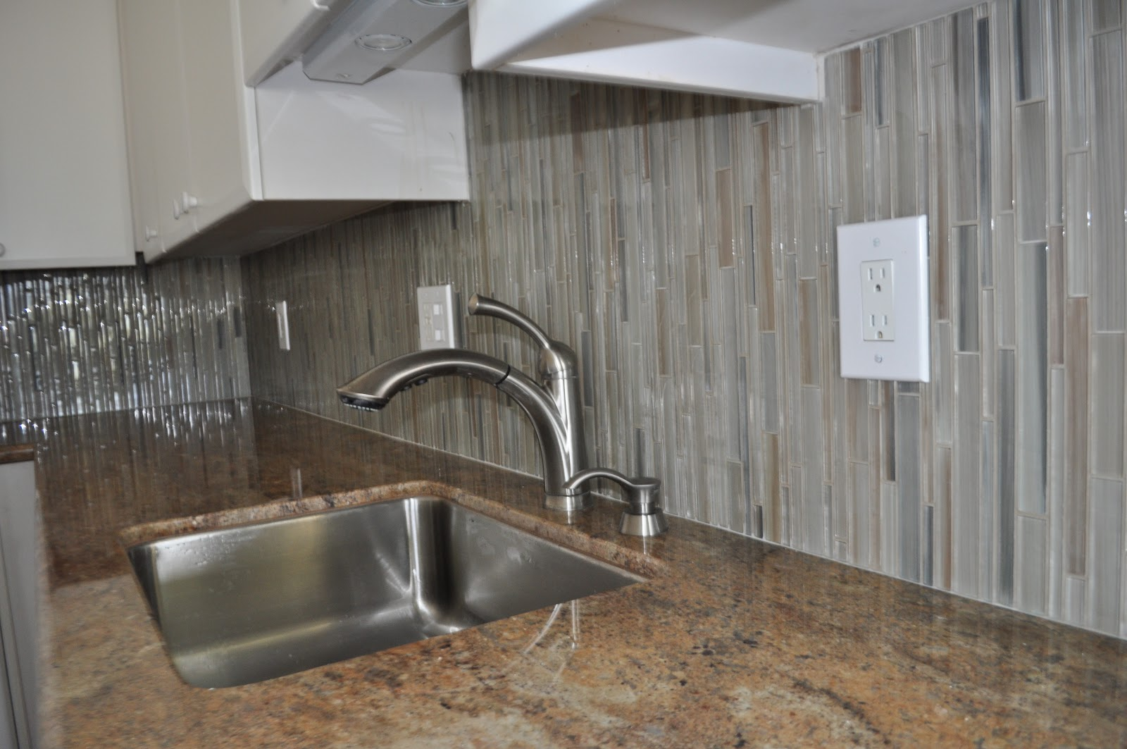 glass tile installations on maui glass tile backsplash kitchen North Kihei Bellavita Glass Tile Backsplash