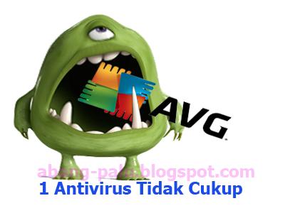 2 antivirus untuk 1 laptop