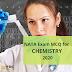 NATA EXAM 2020 MCQs for CHEMISTRY | NATA 2020 Syllabus (Updated)