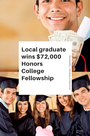 Terrell Page of Magnolia High School wins Honors College felloship from UA Fayetteville worth $72,000