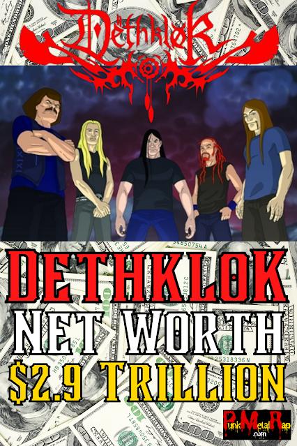 DethkloK net worth.  PunkMetalRap.com