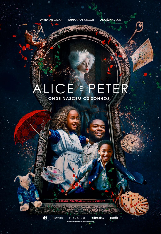 Alice e Peter Onde Nascem os Sonhos  Com Angelina Jolie traz fantasia aos cinemas