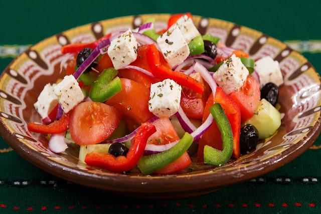 Resep Salad Yunani